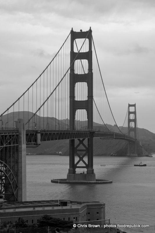Golden Gate BW