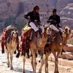 Camel Riders - Petra, Jordan