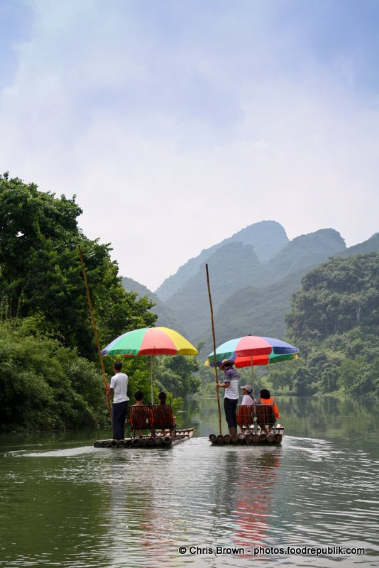 Rafting - Yangshuo