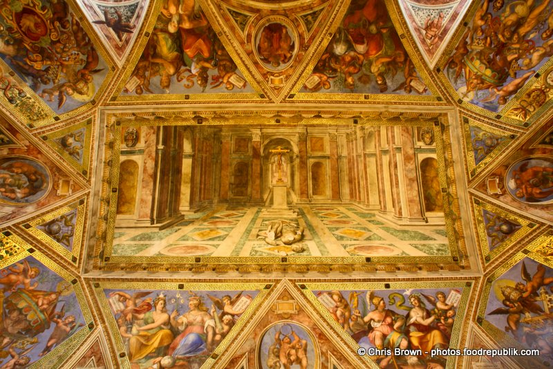 Vatican Ceiling Painting2